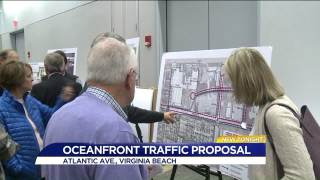 Virginia Beach City Manager Answers Questions Concerns Over Proposed Atlantic Ave Change