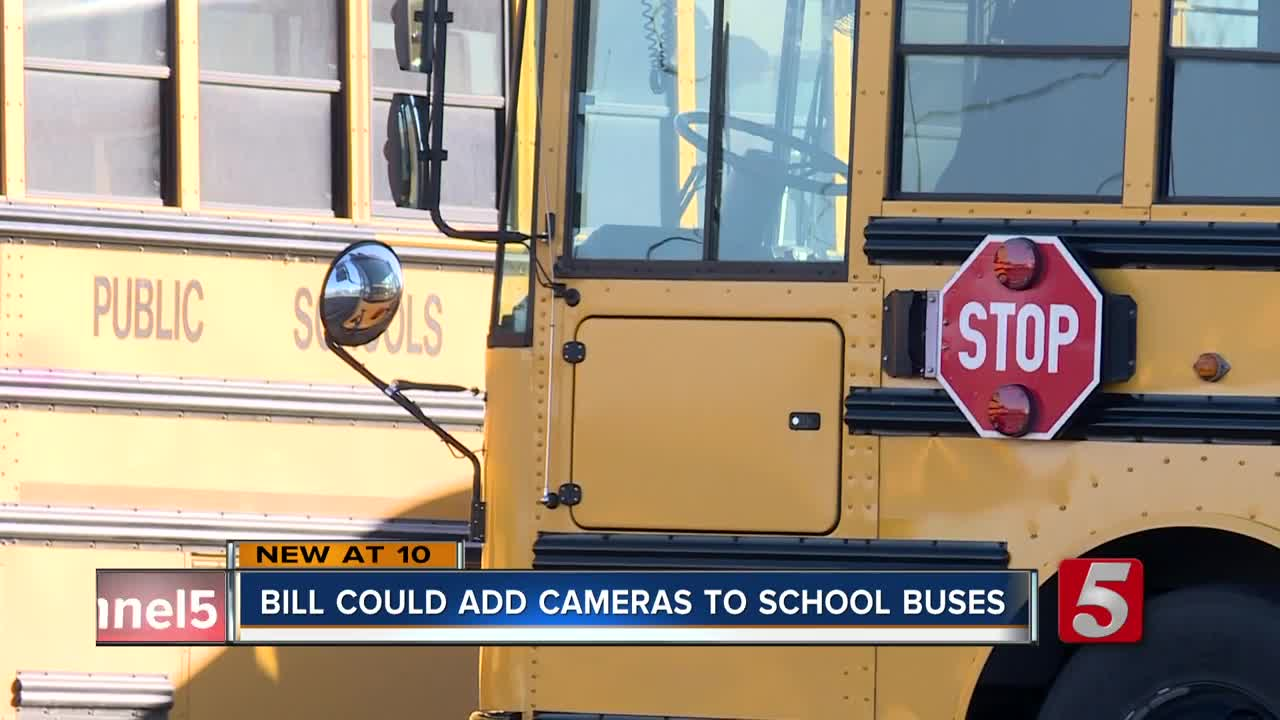 Bill would allow schools to add cameras to the outside of school buses