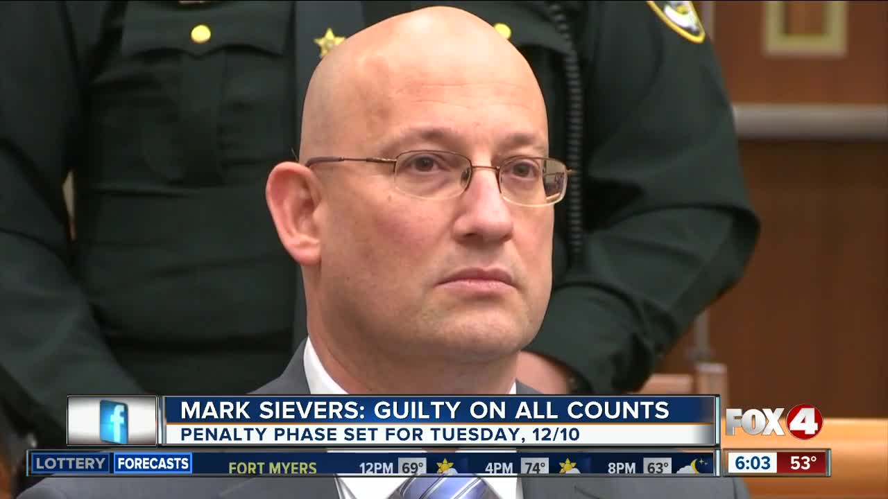 Mark Sievers Guilty Of Murder On All Counts; Could Get
