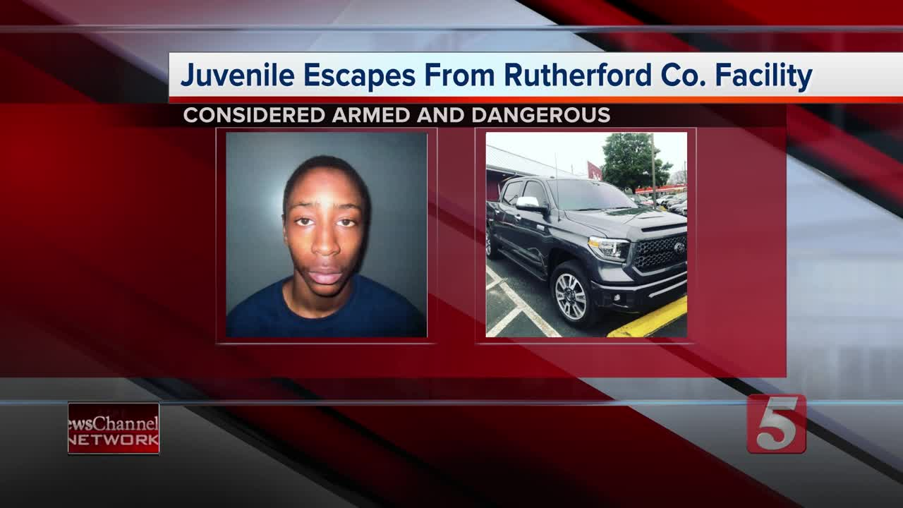 Police still searching for armed, dangerous juvenile escapee