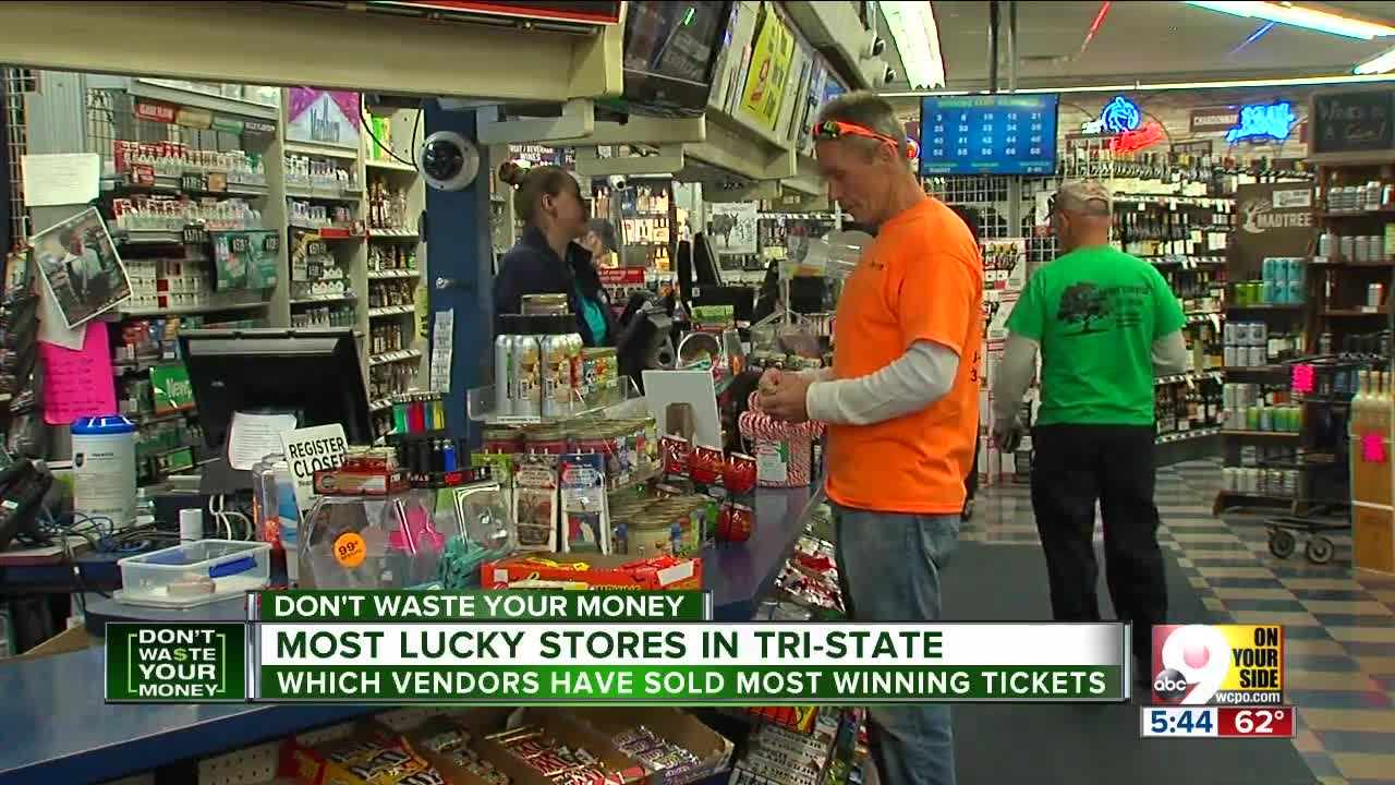 The 9 luckiest lotto stores in the Tri-State