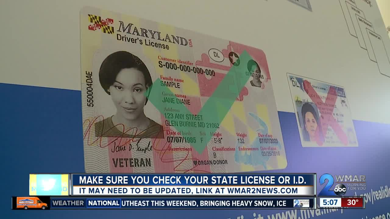 maryland state replacement drivers license