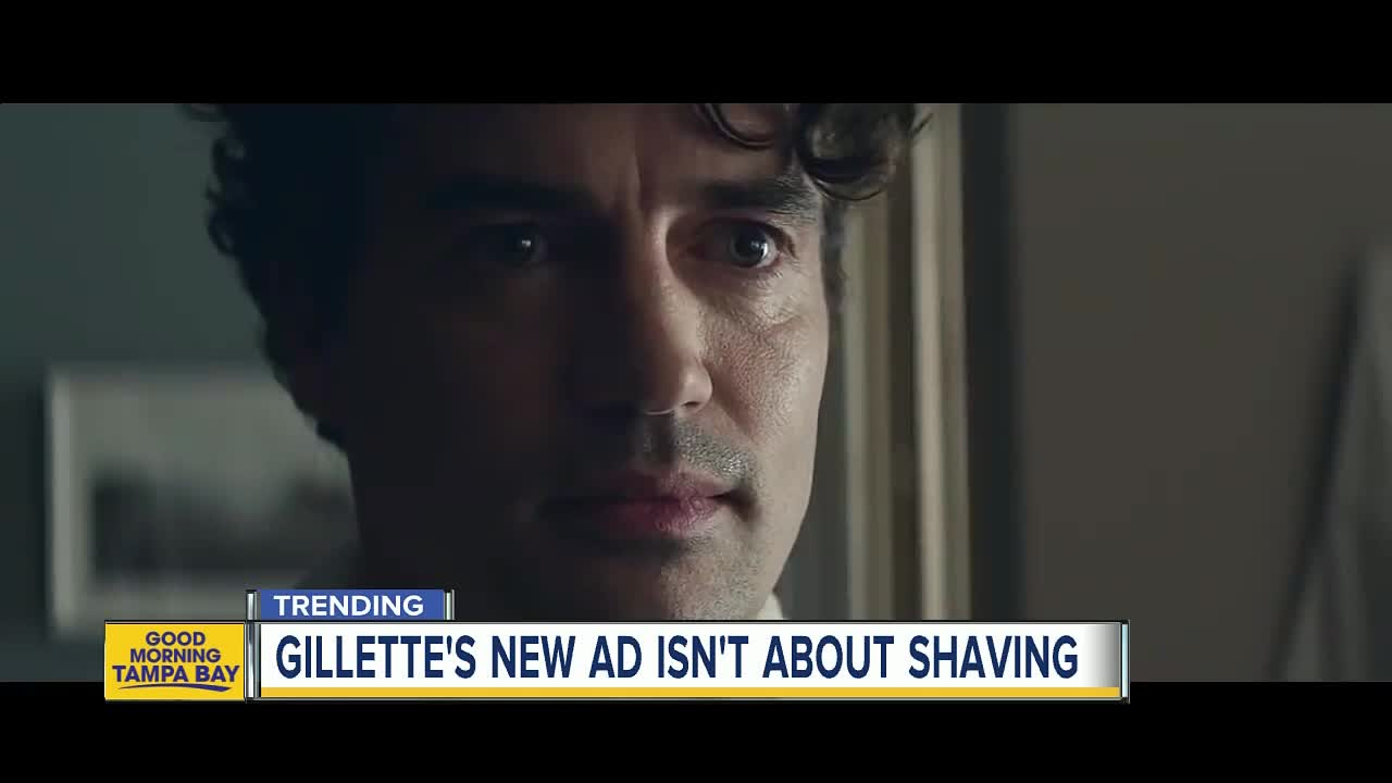 New Gillette advertisement takes on 'toxic masculinity' to promote