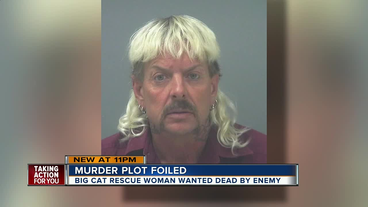 Joe Exotic' indicted for trying to hire someone to murder
