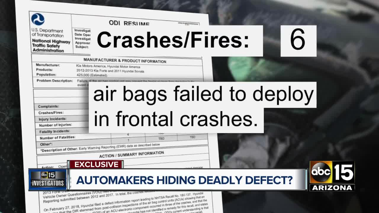 7 auto makers named in class action suit over air bag