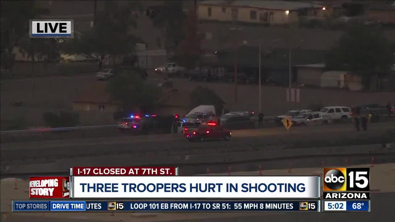 Police ID suspect shot and killed after pursuit that ended on I-17