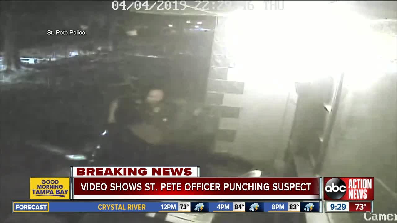 Two St  Petersburg police officers disciplined for