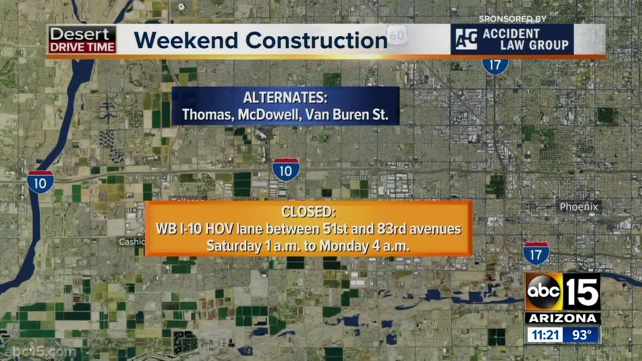 Weekend Travel Alert: I-10 will close for construction! on 10 fwy traffic, palm springs map, 10 freeway map, 10 fwy closure, 10 of texas highway map,