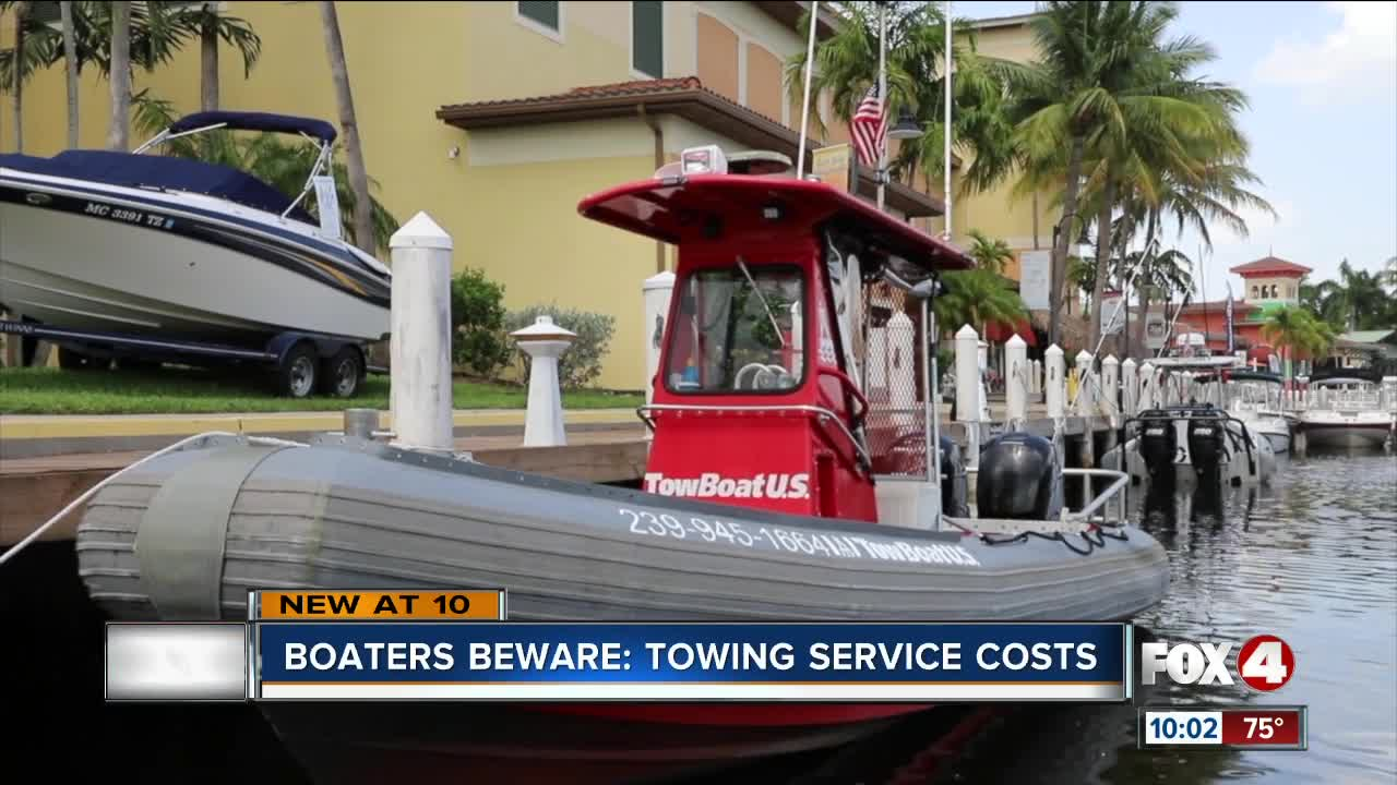 Towing Service Cost >> Cape Coral Man Charged Thousands For Boat Towing Service