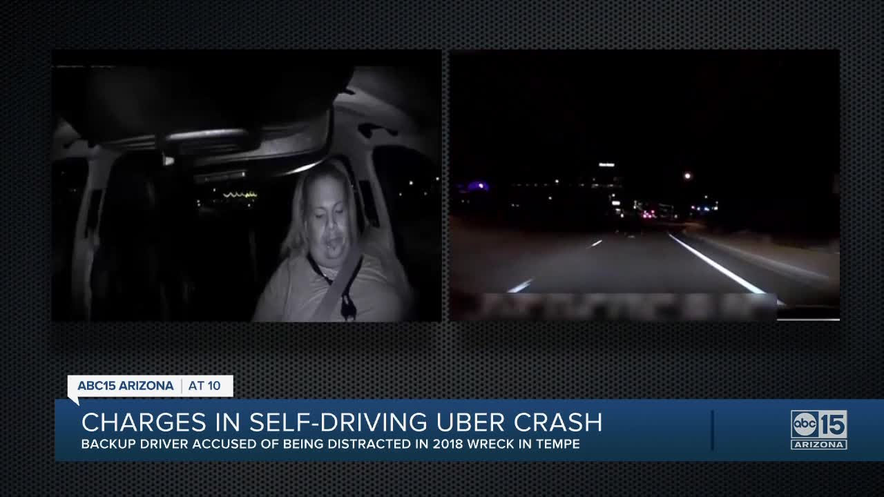 Uber Driver Charged With Negligent Homicide in Fatal Self-Driving Car Collision