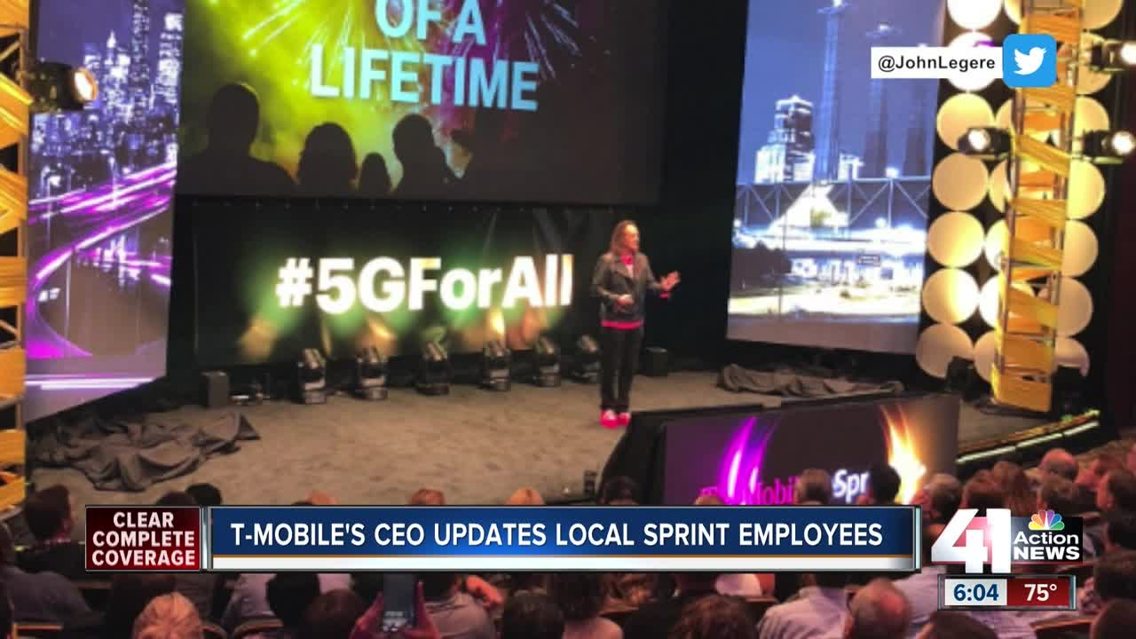 T-Mobile CEO gives message of 'one company' during visit to