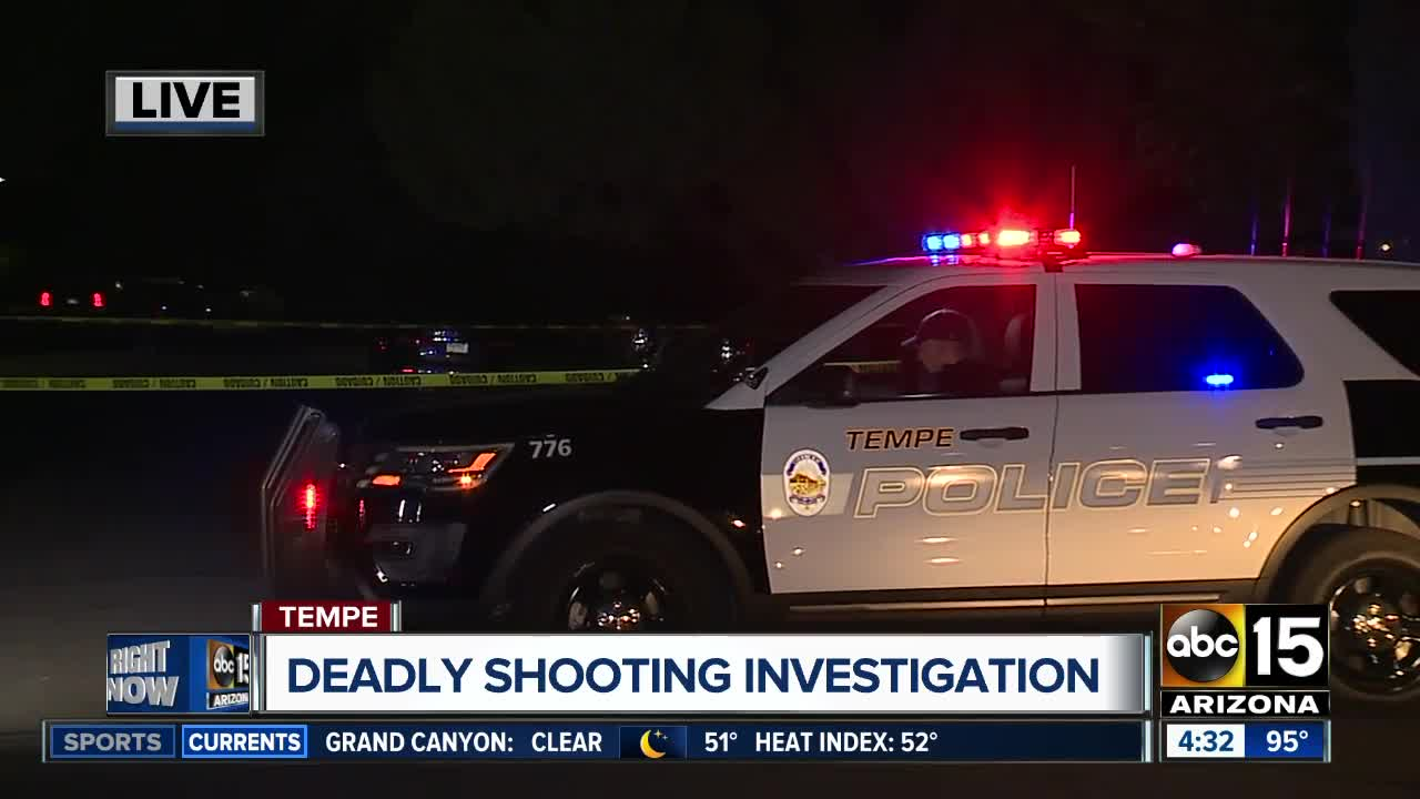 PD: Man dead after shooting in Tempe overnight