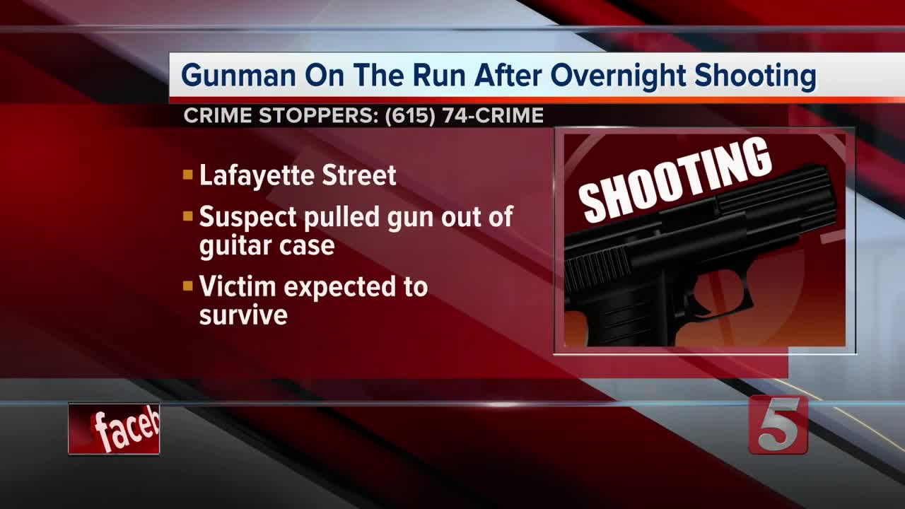 Nashville Shooting: Gunman Pulls Shotgun From Guitar Case