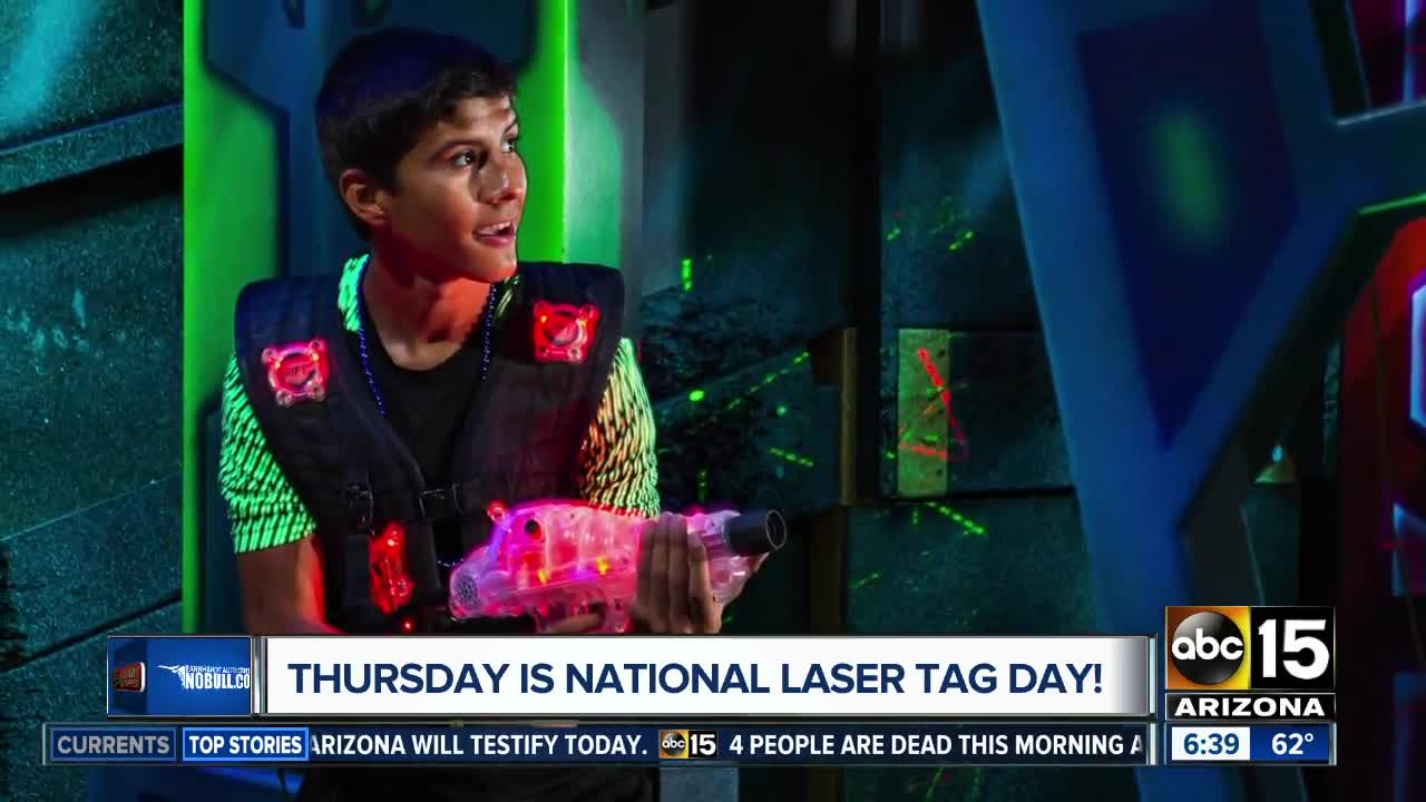 Play laser tag for only $1 today, and score 30 percent off virtual reality  with our Deal of the Day!