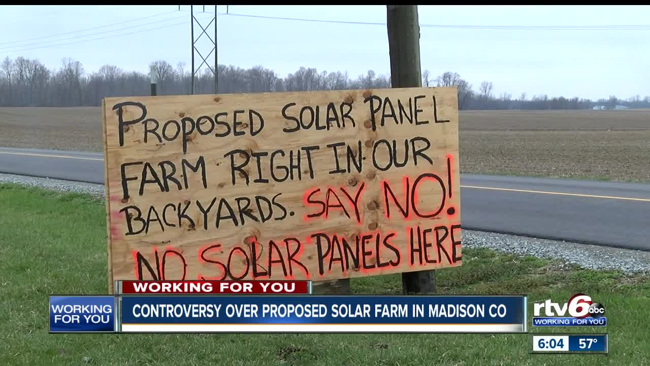 Controversy Over Panels Decision On >> Controversy Over Proposed Solar Farm In Madison County