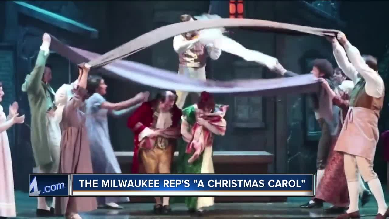 Check out our own Charles Benson in Milwaukee Rep's 'A Christmas Carol' this year