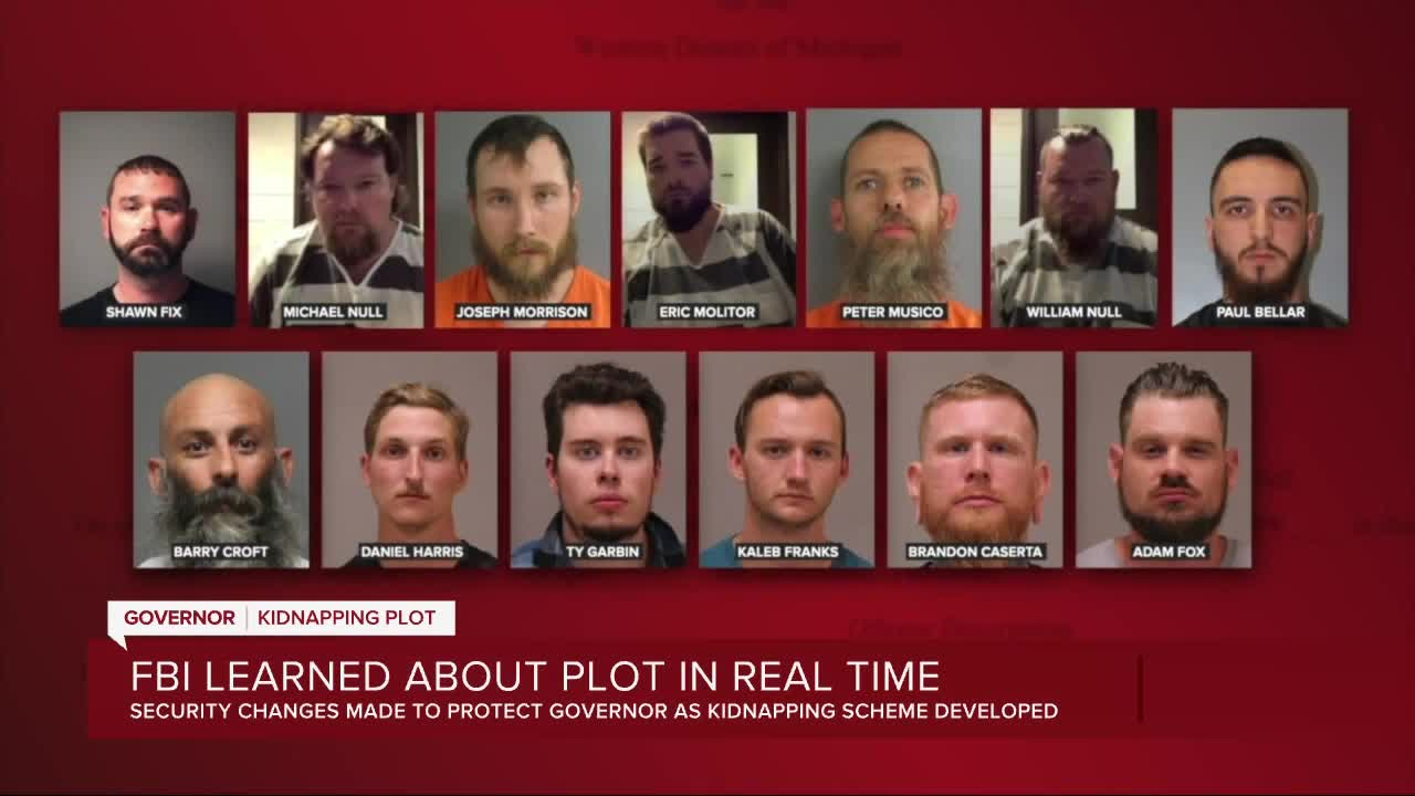 FBI Charges 6 in Plot to Kidnap Michigan Governor