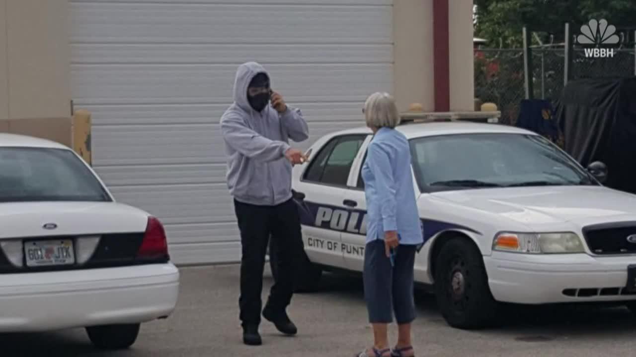 Florida Cop Shoves Teen Off Roof as Partner Shouts 'Push Him Off'