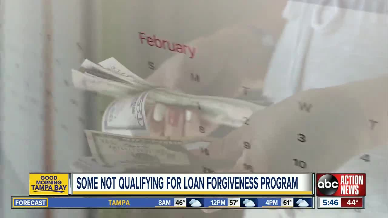Federal Government Not Forgiving Student Loans For