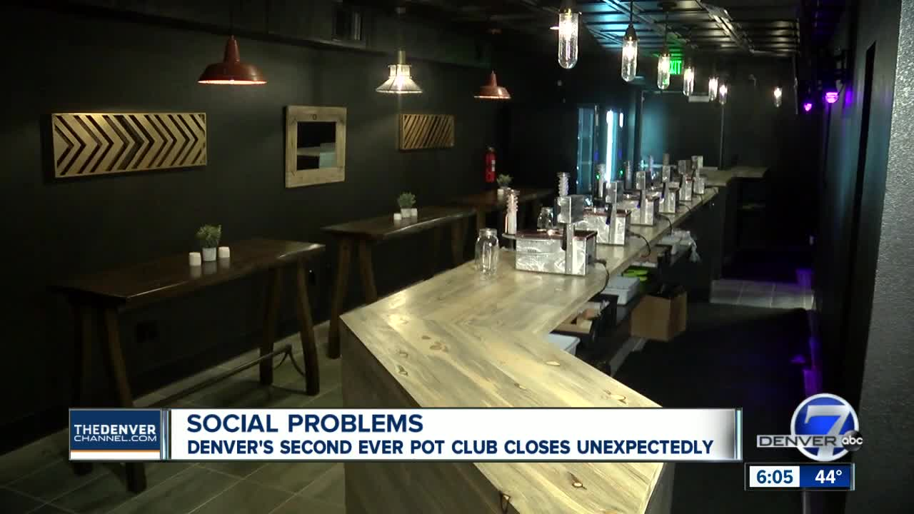 Denver s second social marijuana consumption business shuts doors ... 33b6f2b8d
