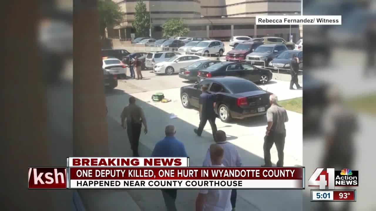 Two Wyandotte County sheriff's deputies fatally shot