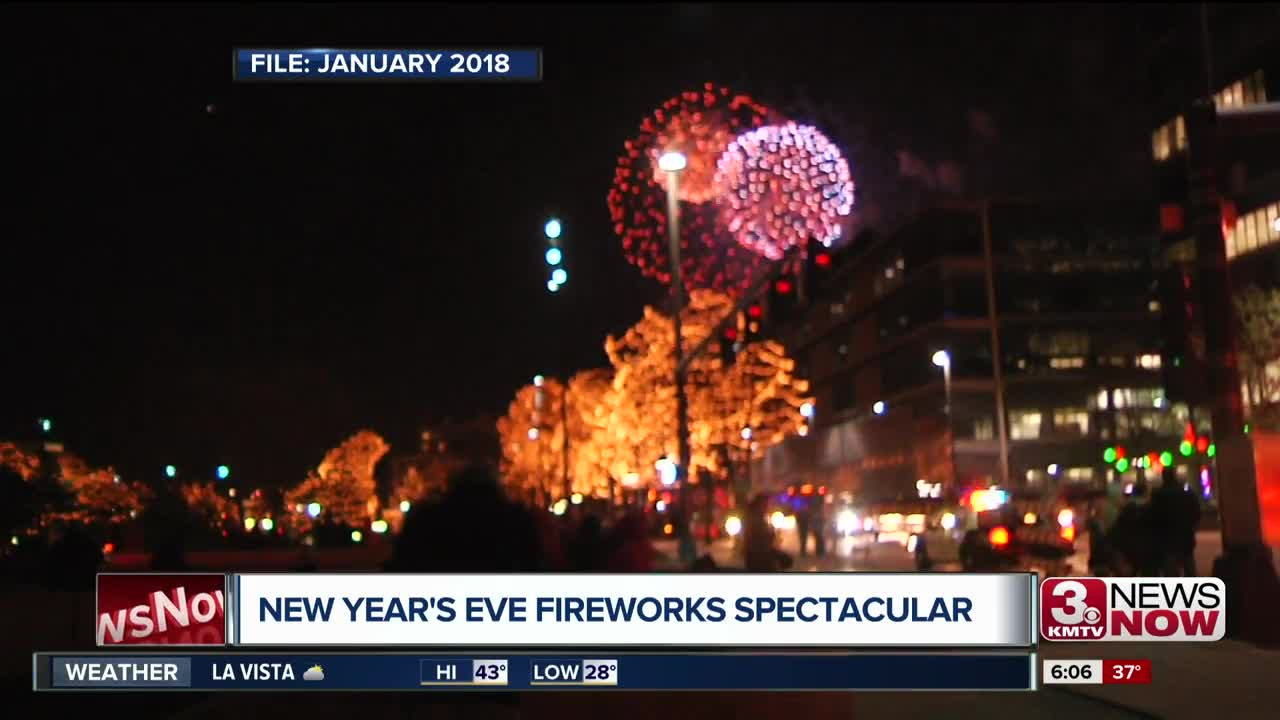 New Year's Eve firework show to move after this year
