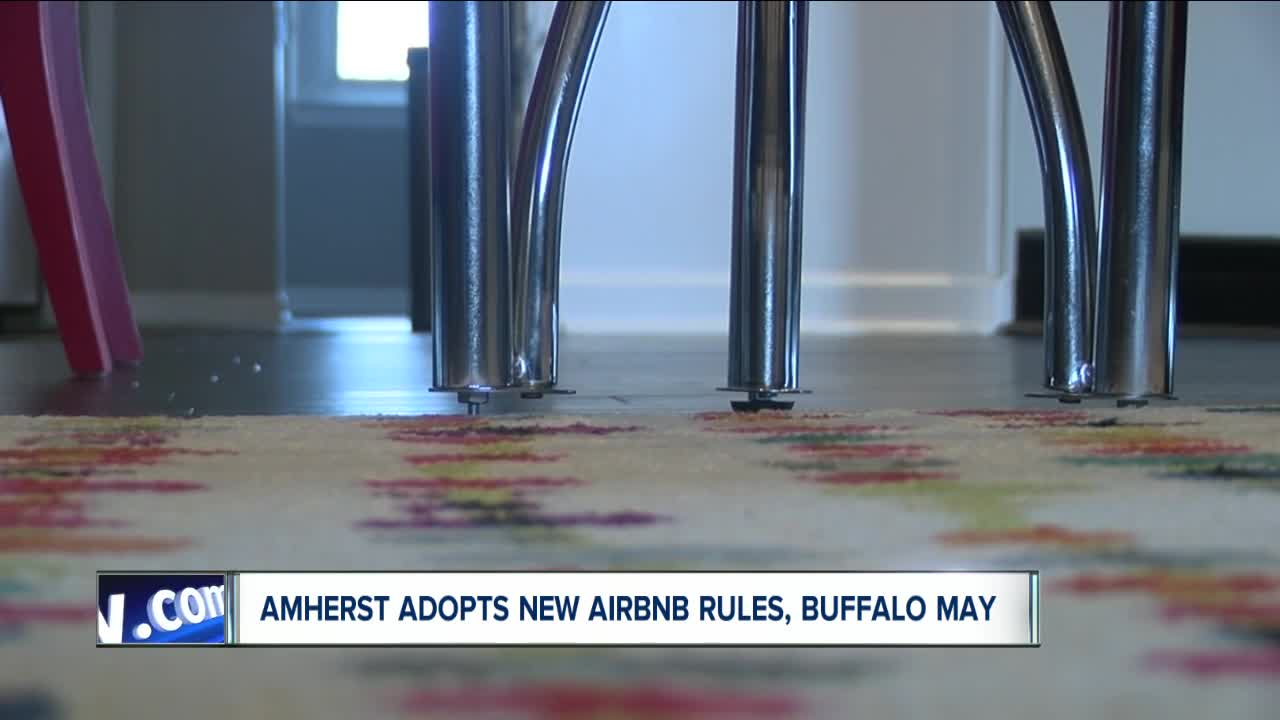 New Airbnb legislation considered in Buffalo, adopted in Amherst