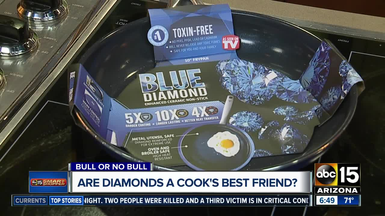 Bull or No Bull? Blue Diamond Non-stick Pan is supposed to