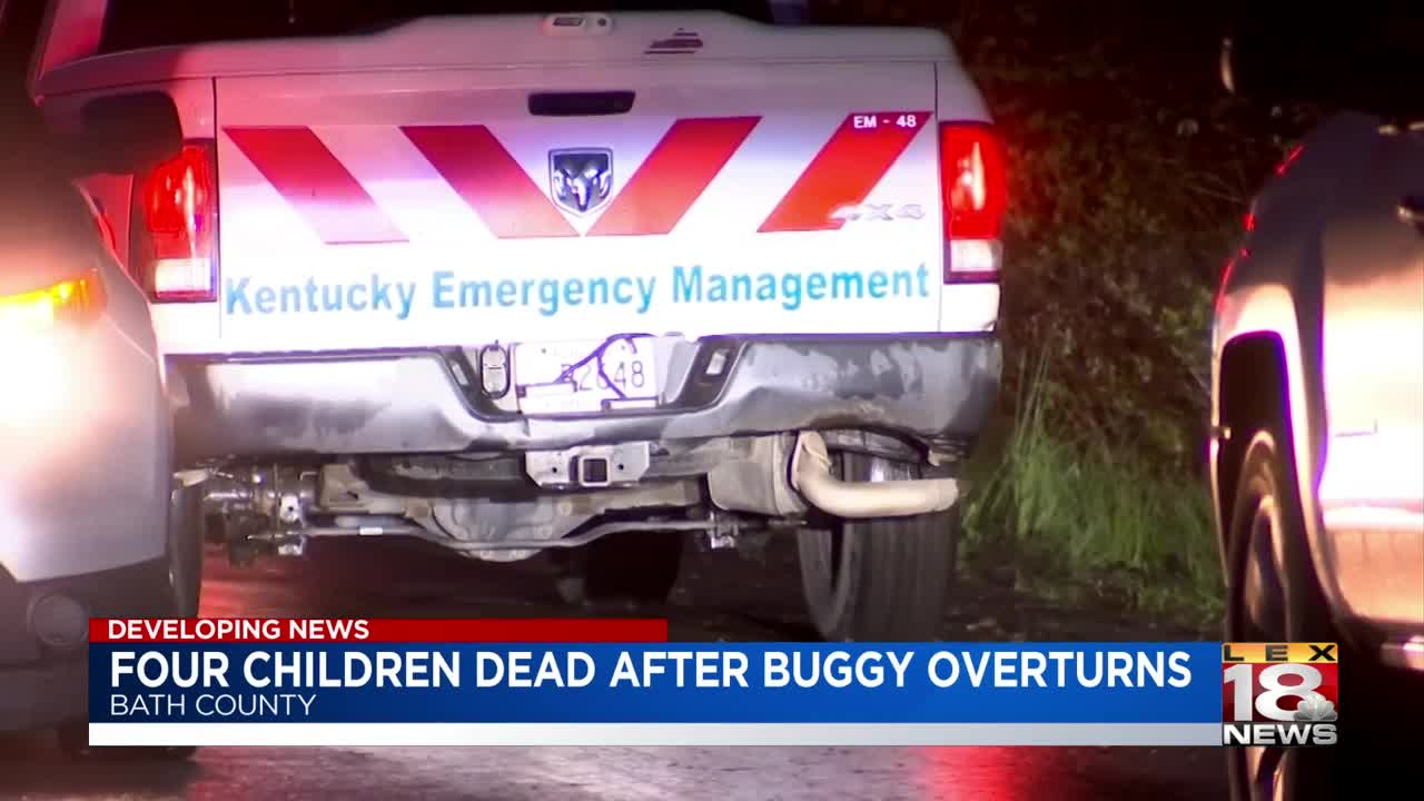 Kentucky Storm: Horse-Drawn Buggy Overturns Killing 4 Children, 1 Child Missing