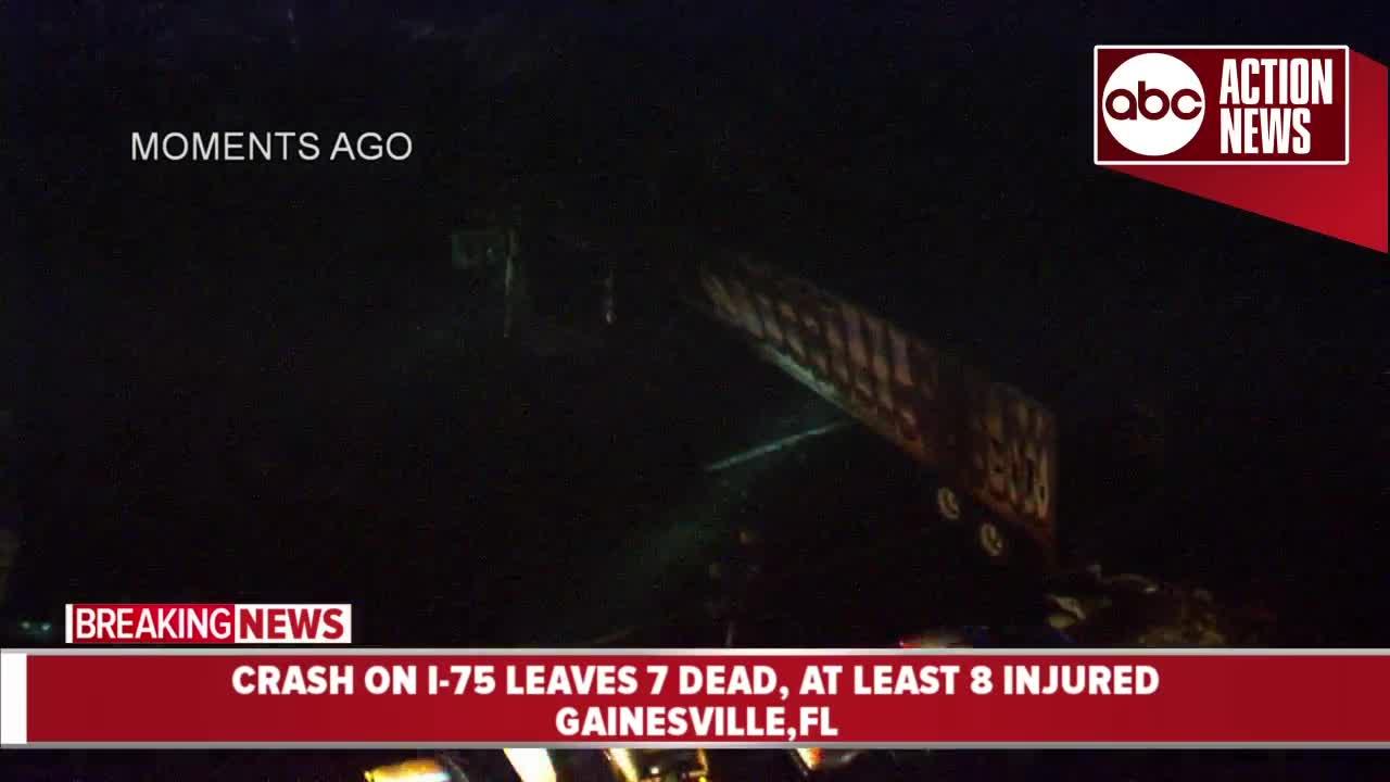 5 children headed to Disney among 7 killed in Florida crash