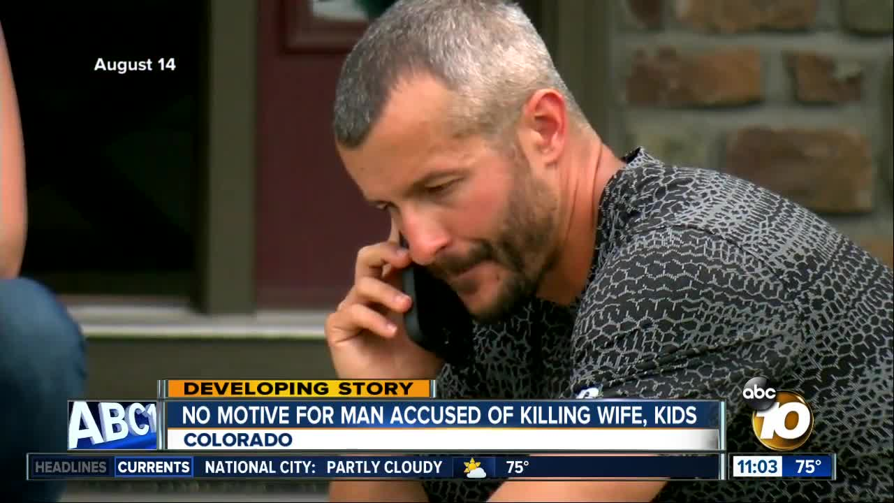 Chris Watts likely to be formally charged today in deaths of