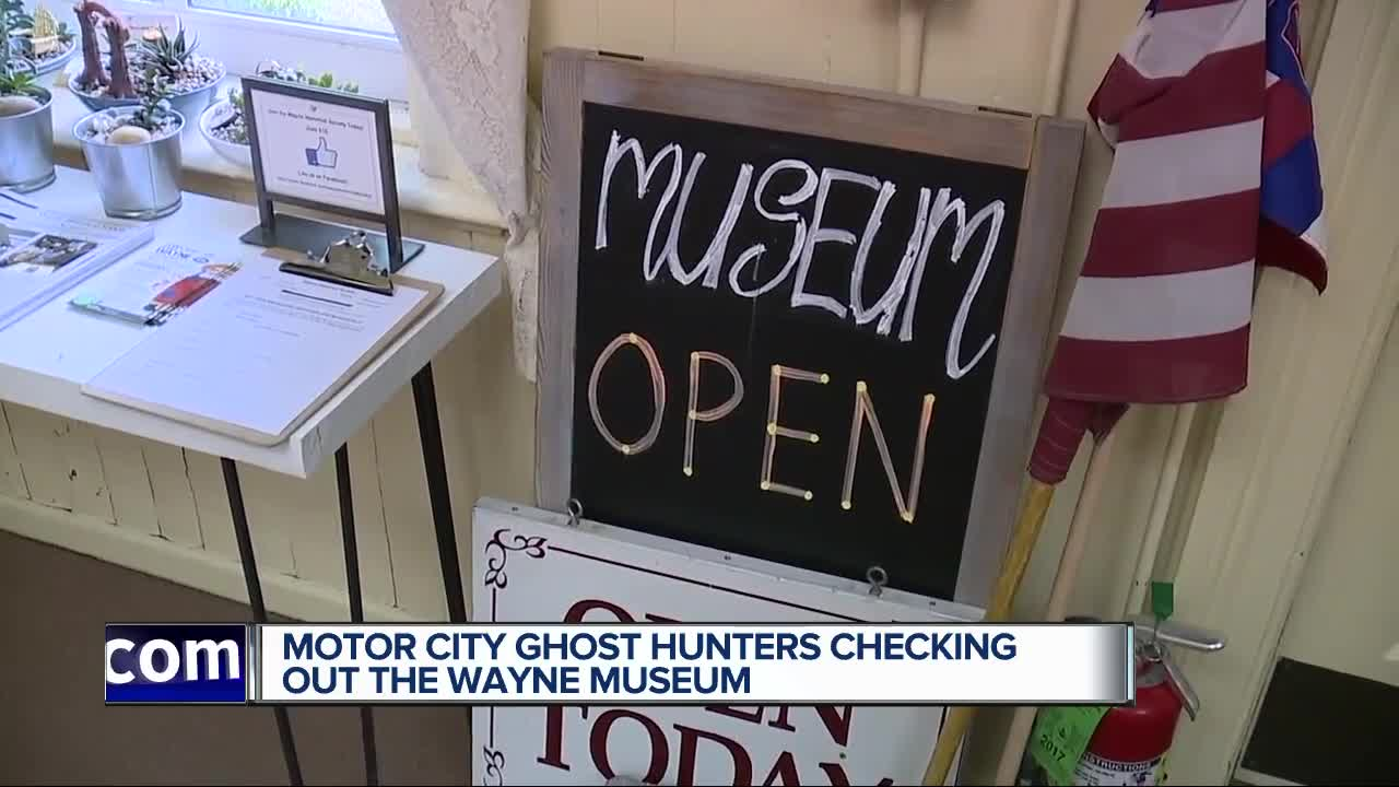 Motor City Ghost Hunters look into the haunting of the Wayne Museum