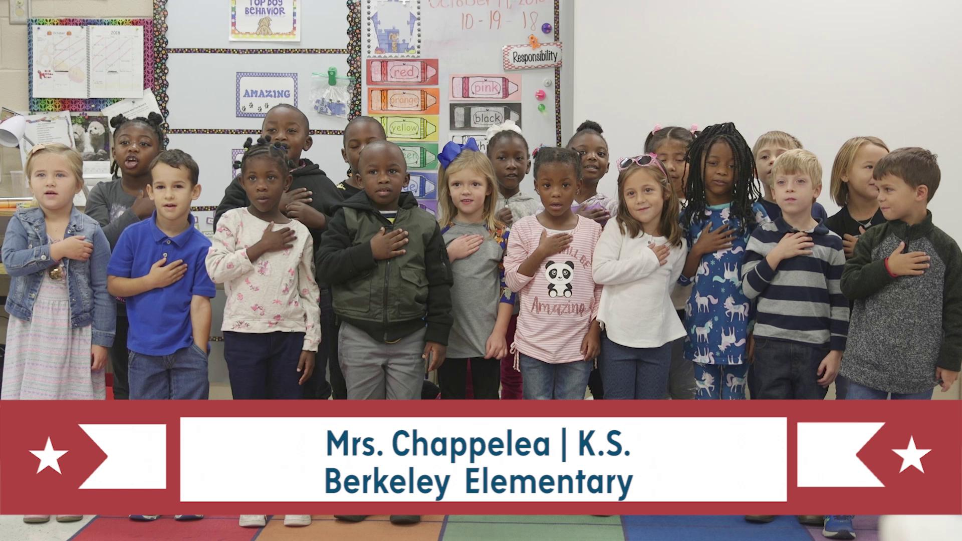PLEDGE OF ALLEGIANCE for March 12, 2019