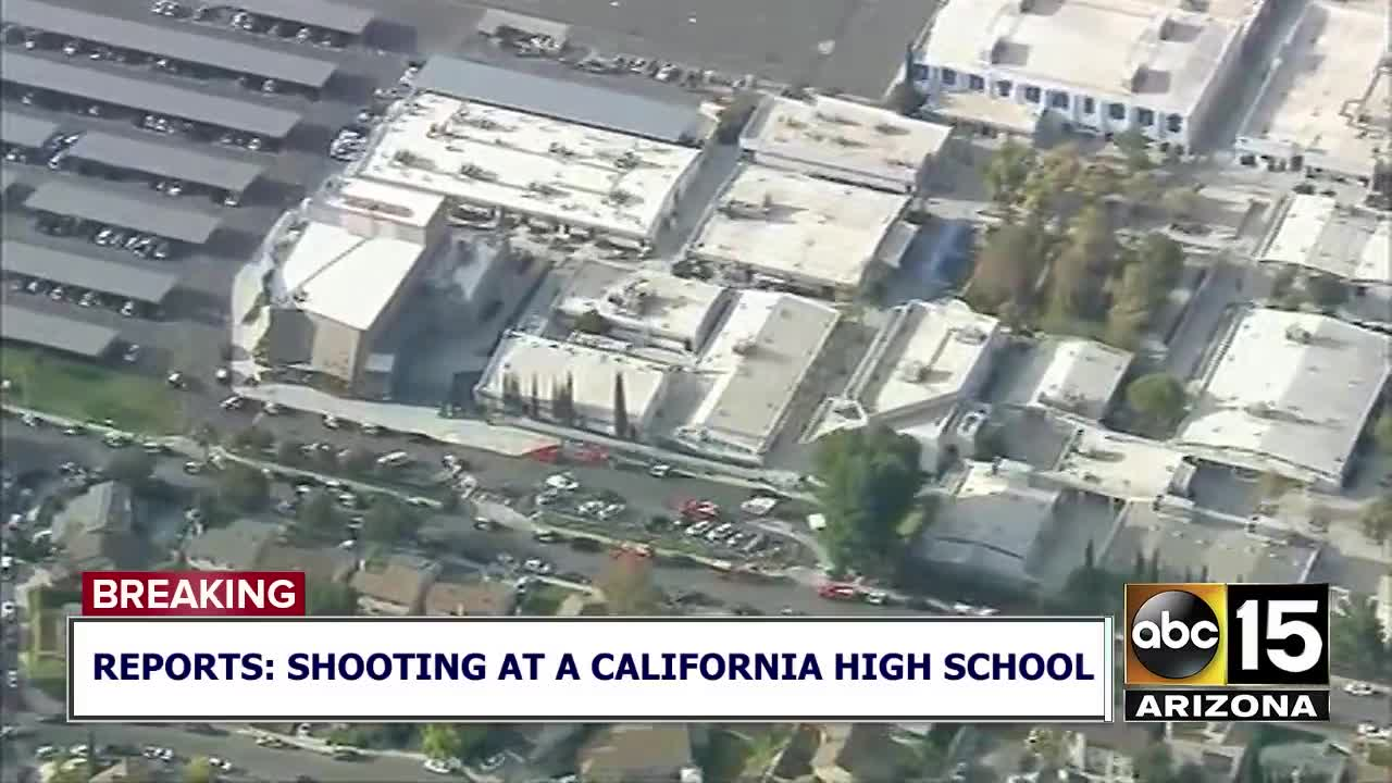 At least 5 wounded after shooting at California high school