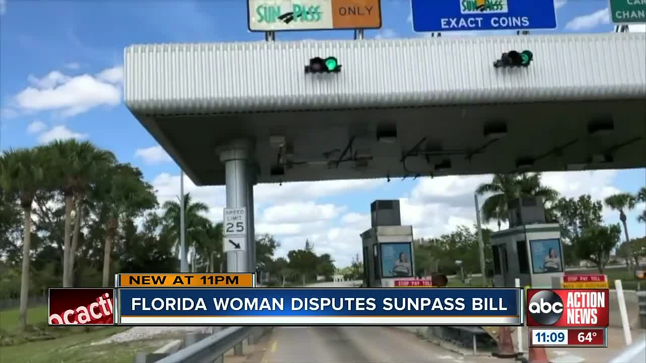 Florida Toll By Plate >> Sunpass User Shares How She Got 1 500 Toll By Plate Bill