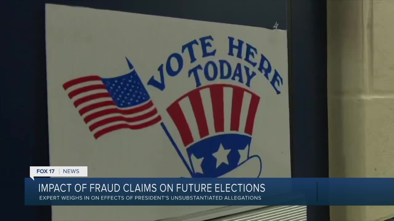 Voting Rights expert says 'no fraud in all places where allegations' were made