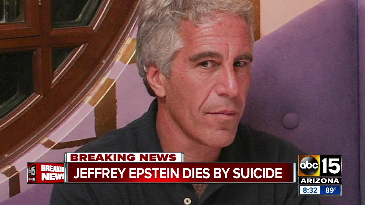 Jeffrey Epstein Found Dead In Manhattan Jail