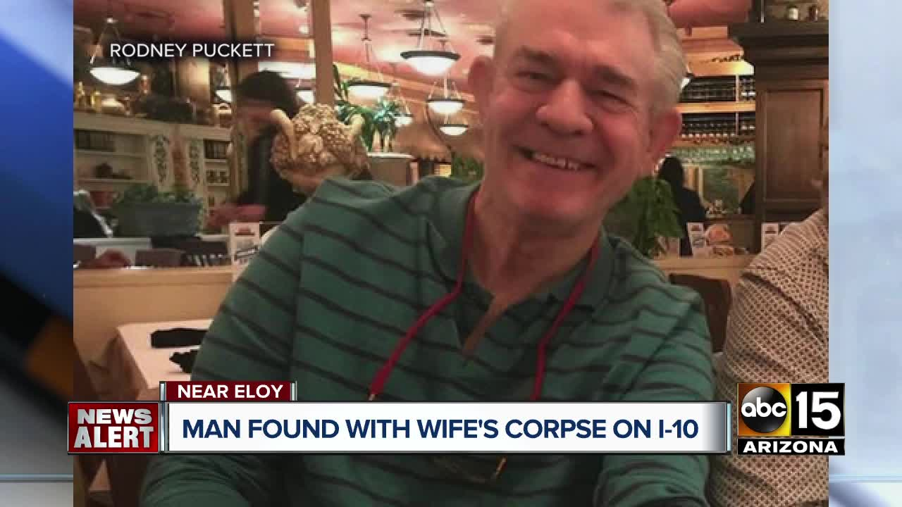 Arizona police arrest 70-year-old traveling with wife's dead body