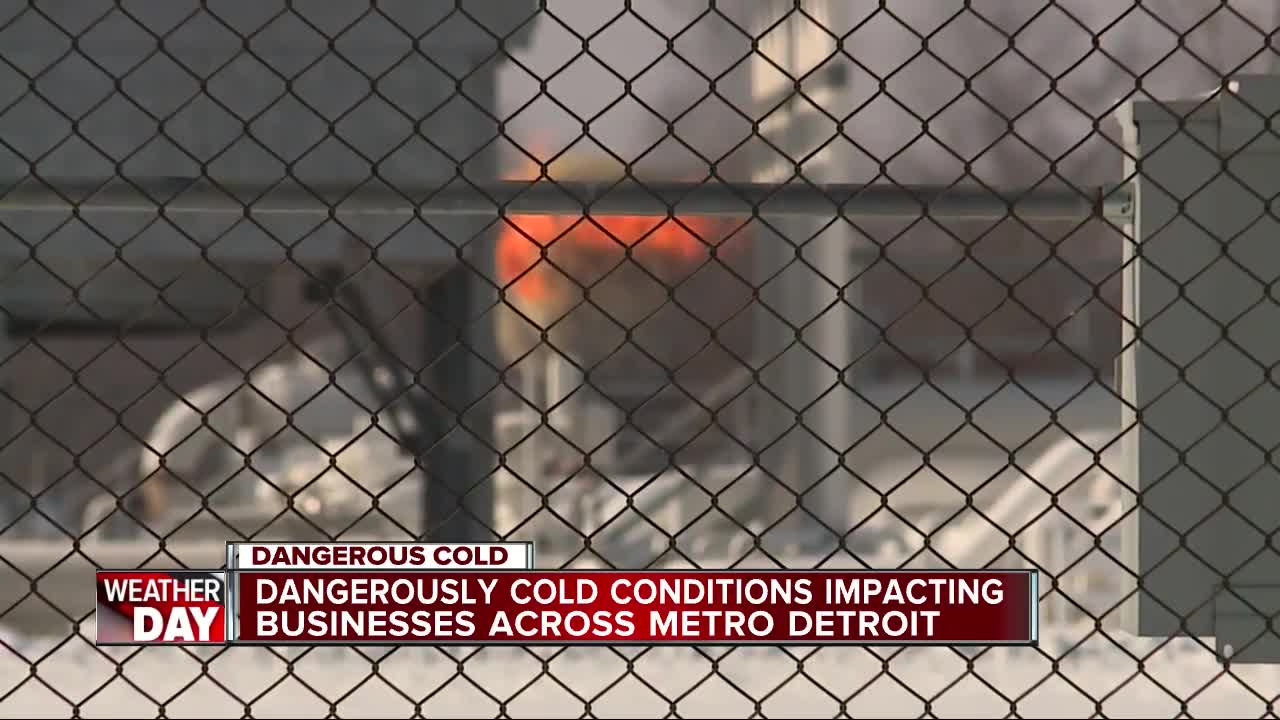 Polar vortex shuts down 11 GM auto plants in MI