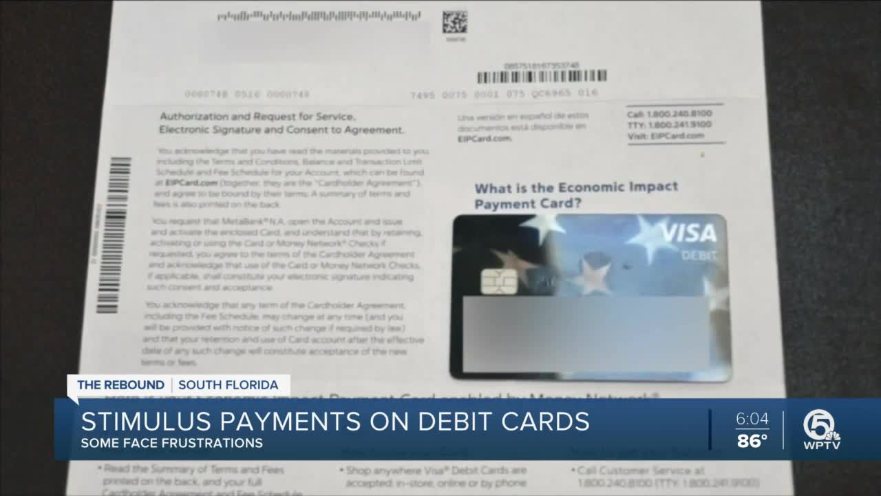 Stimulus debit cards causing some to accidentally toss them in the ...