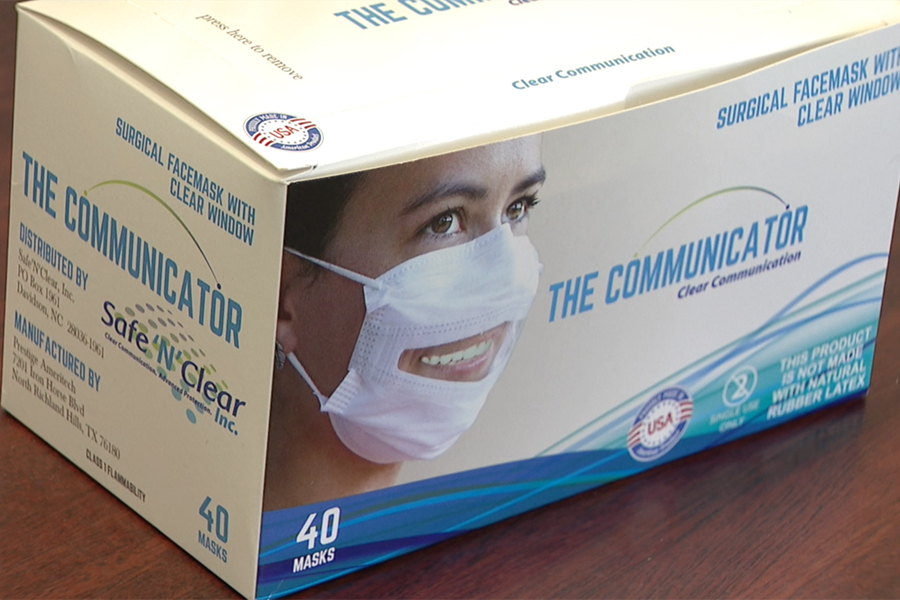 communicator surgical face mask