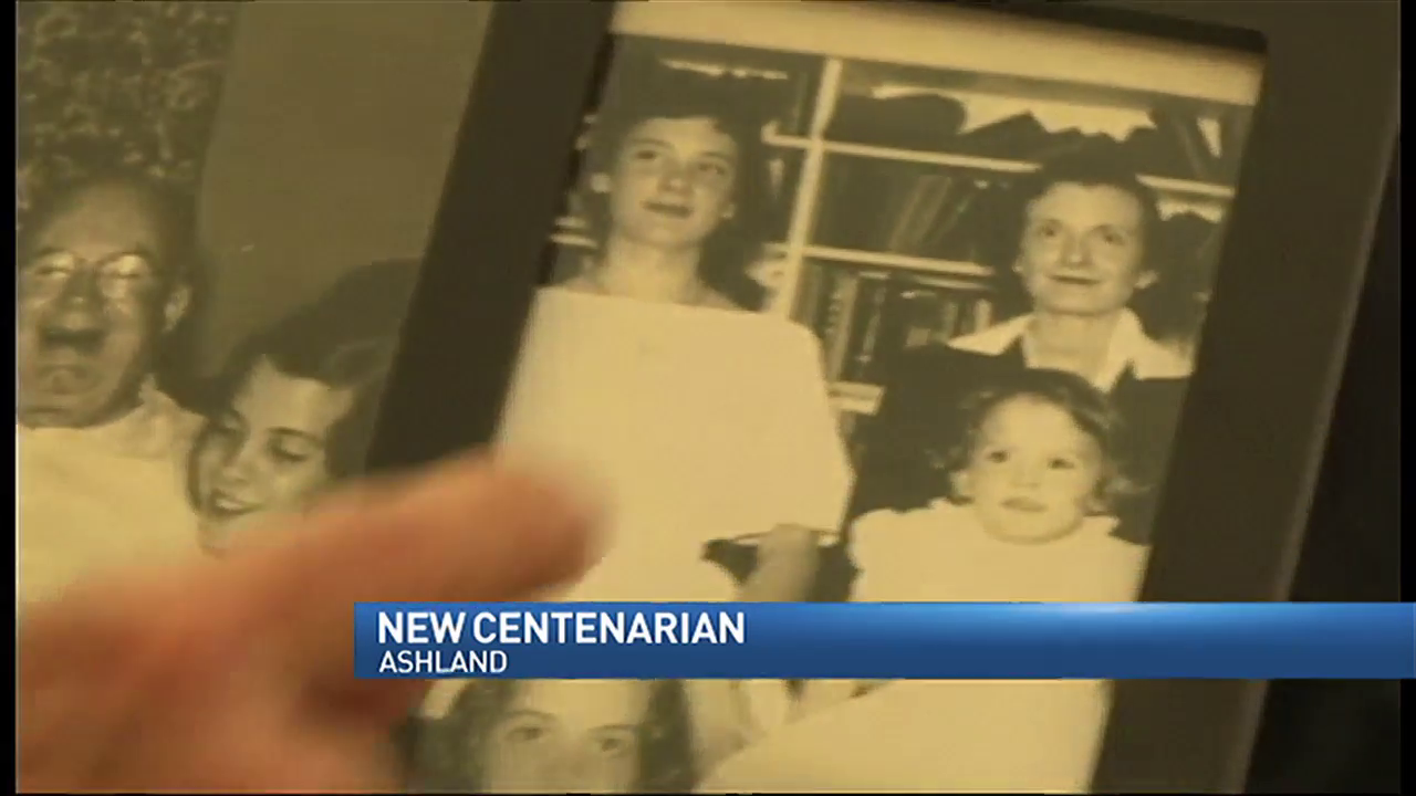 Ashland residents becomes a centenarian
