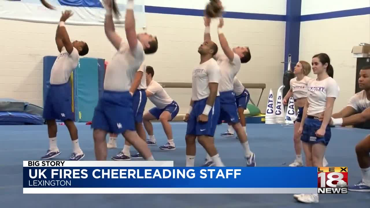 University of Kentucky fires cheerleading staff after investigation reveals hazing, public nudity