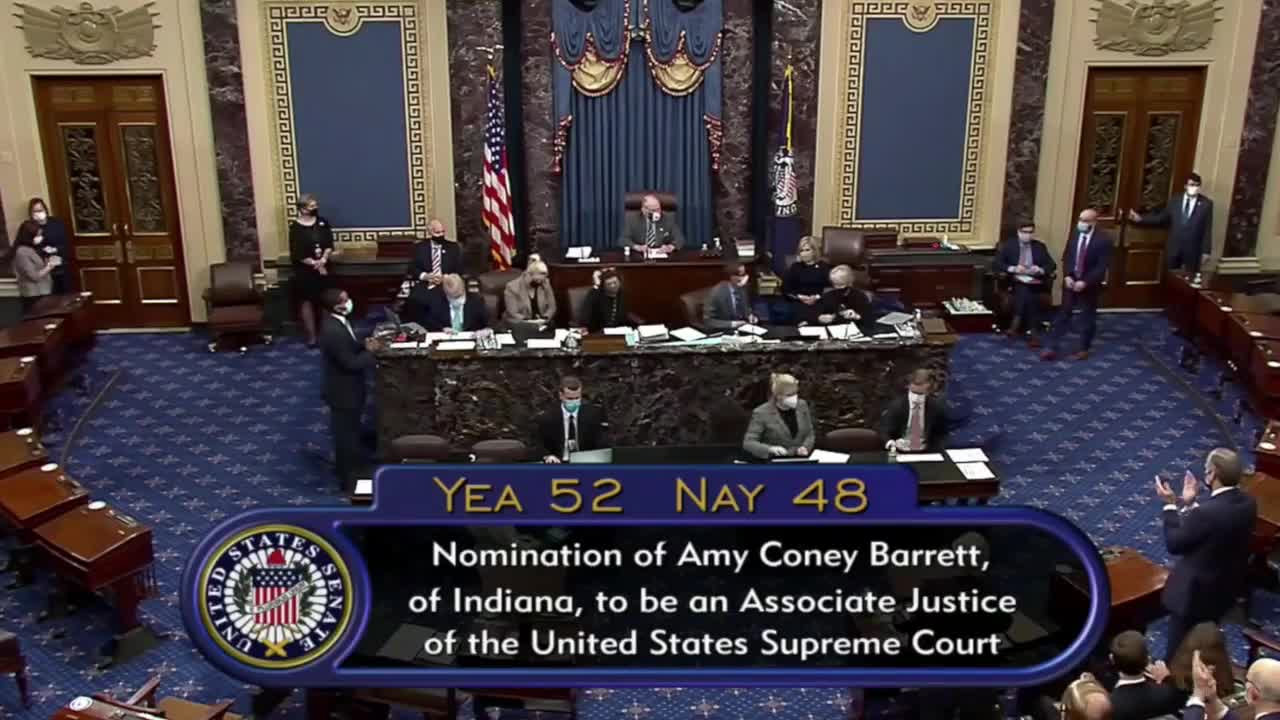AOC calls for Supreme Court expansion after Amy Coney Barrett confirmation