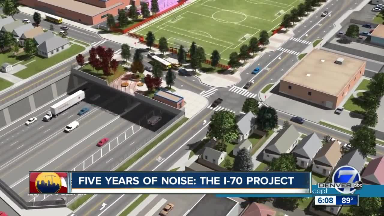 5 years of noise: Central I-70 project asking for permission