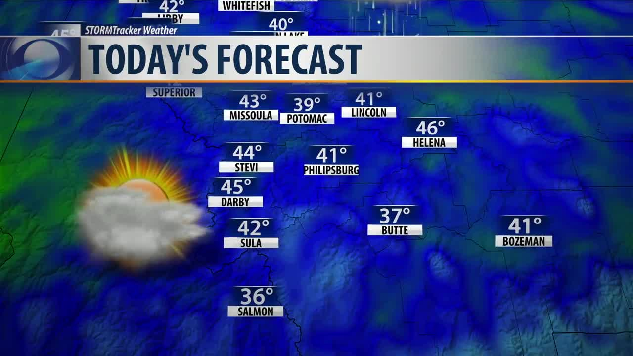 Strong wind, more mountain snow on the way today