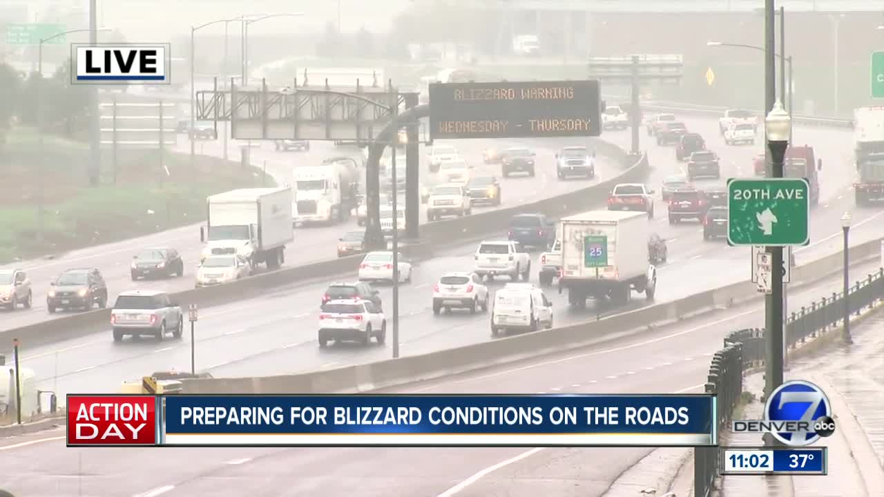 Live weather and traffic updates as April blizzard moves