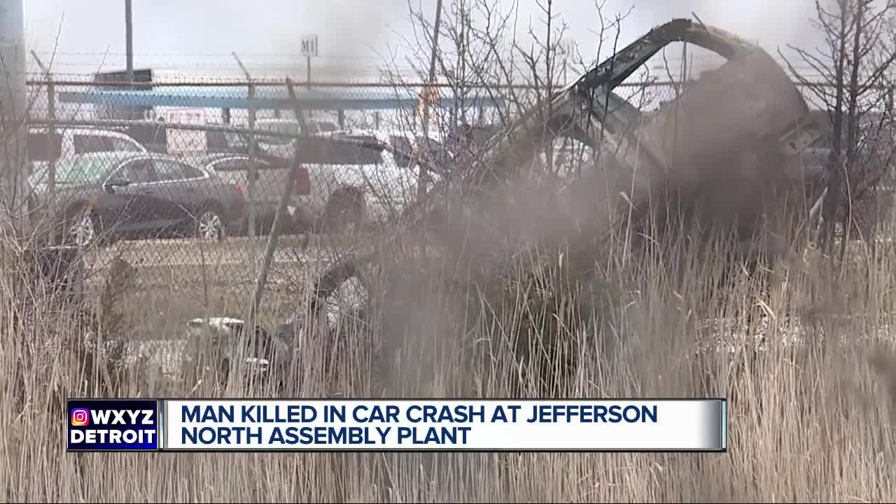 Detroit police are investigating deadly crash at the Chrysler