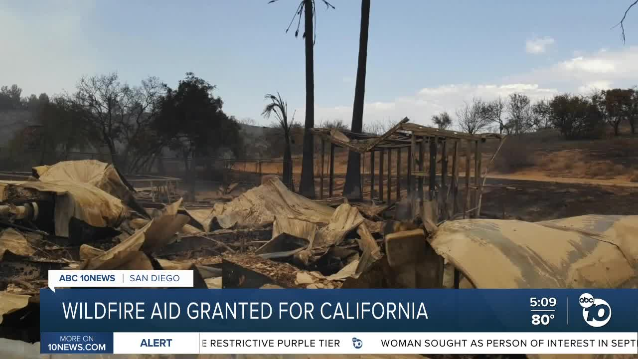 Trump administration denies California relief for 6 fires