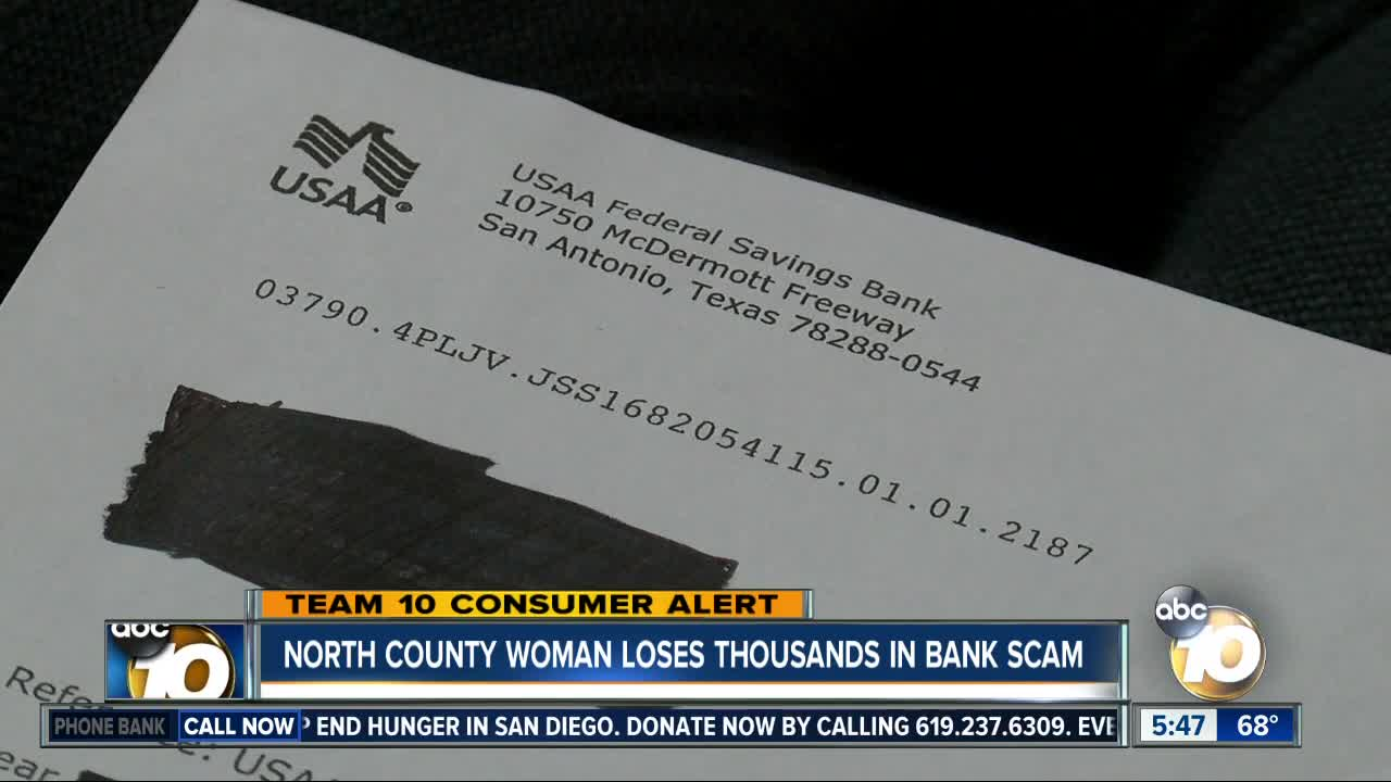 Scammers Spoof Usaa Financial Institution Phone Number Woman Loses